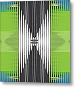 Seismic Rug Metal Print