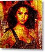 Selena Gomez 3 Metal Print