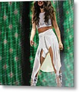 Selena Gomez-8678-1 Metal Print