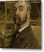 Self Portrait, C.1884 Metal Print
