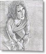 Self Portrait Of Natalie Trujillo Metal Print