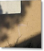 Self Portrait Shadow Wall Casa Grande Arizona 2004 Metal Print
