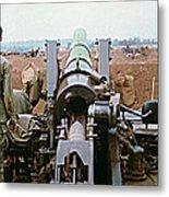 Self-propelled 8 Inch Howitzer M110 Lz Oasis R V N 1968 Metal Print