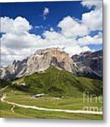 Sella Group. Italian Dolomites Metal Print