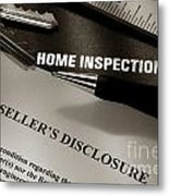 Seller Disclosure Metal Print