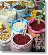 Selling Beans Nuts And Grains Metal Print