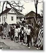 Selma To Montgomery Metal Print by Benjamin Yeager