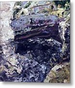 Semi-abstract Seascape Metal Print by Brian Simons