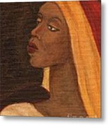 Semi-abstract- Woman Metal Print
