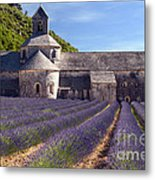 Senanque Abbey Metal Print