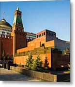 Senate Tower And Lenin's Mausoleum Metal Print