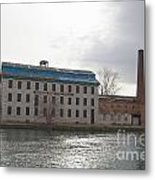 Seneca Falls Knitting Mill Metal Print