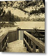 Seney Osprey Metal Print