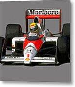 Senna '89 Metal Print