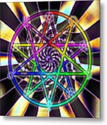 Sense Creation Five Metal Print