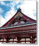 Sensoji Temple Metal Print
