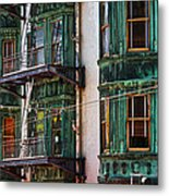 Sentinel Building Or Columbus Tower Metal Print