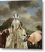 Separating The Sheep From The Goats Metal Print