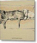Separation, 1930, 1st Edition Metal Print