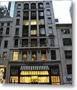 Sephora House - 5th Ave Nyc Metal Print