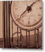 Sepia Time Metal Print