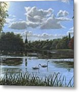 September Afternoon In Clumber Park Metal Print