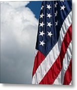September Flag Metal Print