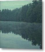 September Reflection Metal Print