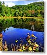 September Reflections Metal Print