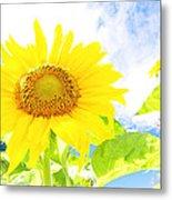 September Sun Metal Print