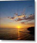 September Sunday Sunset  Metal Print