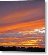 September Sunset Three  Metal Print