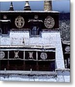 Sera Monastery - Lhasa Tibet Metal Print