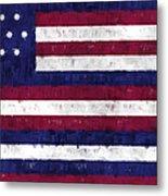 Serapis Flag Metal Print by World Art Prints And Designs