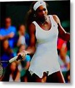 Serena Williams Making It Look Easy Metal Print