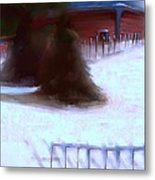 Serene New England Cabin In Winter #10 Metal Print