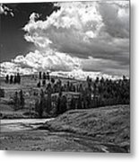 Serene Valley Metal Print