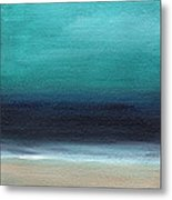 Serenity- Abstract Landscape Metal Print