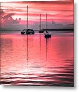 Serenity Bay Dreams Metal Print