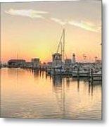 Serenity Harbor 2 Metal Print