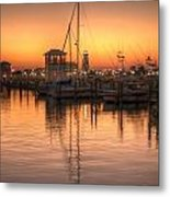Serenity Harbor 4 Metal Print