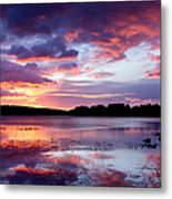 Serenity Sunset Metal Print