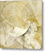 Series Abstract Art In Earth Tones 1 Metal Print