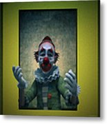 Serious Discourse Metal Print