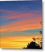 Serious Sunset Metal Print