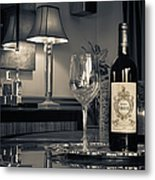 Service For One Metal Print by Dennis James