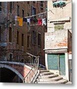 Sestier San Polo - Venice Metal Print