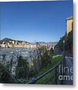 Sestri Levante And A Street Metal Print