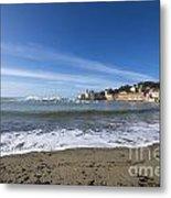 Sestri Levante And Beach Metal Print