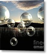 Set The Controls For The Heart Of The Sun Metal Print
